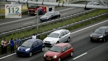Ongeval met 3 wagens op de A4