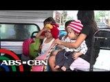 Tacloban residents flee 'Glenda'