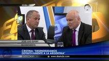 """José Luis Espert en """"A fuego lento"""" con Clara Mariño y Andrés Klipphan  4 de Marzo 2015"""