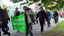 Cottbus: BTU / HL Menschenkette am Gelände der BTU Cottbus (Trailer vom 17.10.2012)