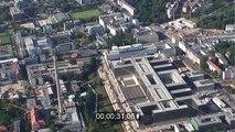 Neubau der BND-Zentrale in Berlin-Mitte an der Chausseestraße in der Hauptstadt Berlin
