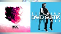 "Zedd ft. Jon Bellion vs. David Guetta ft. Sia - ""Beautiful Titanium"" (Mashup)"