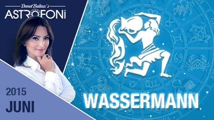 Monatliche Horoskope zum Sternzeichen Wassermann ( Juni 2015)