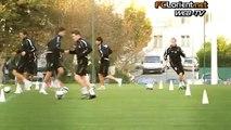 Ligue 1 / 2009/10 : Entrainement du FC Lorient le lundi 9 novembre 2009