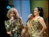 Lola Flores y Celia Cruz Burundanga en Sabor a Lolas