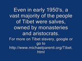 Free Tibet? Yes, Tibetan slaves already freed in 1959 by Mao