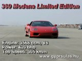 Ferrari F360 Modena Limited Edition vs Hungarian Dragpolski