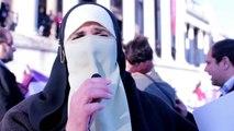 International Women's day | Trafalgar Square protest | 7/3/2015 | Press report