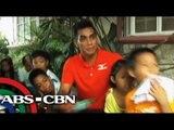 Azkals member Rota back in PH helps orphanage