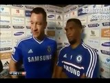 John Terry exclusive interview on his affairs   John Terry Samuel Eto'o funny interview