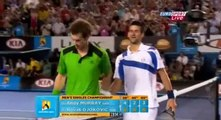 Novak Djokovic vs Andy Murray - Novak wins Australian Open 2011