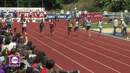Finale M 100 m (Victoire de Jimmy Vicaut en 10''02)