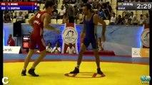 DAVITAIA(GEO)-ANKE(POL) 1/8 Final - GR 66 kg 2014 FINAL GOLDEN GRAND PRIX - BAKU (A