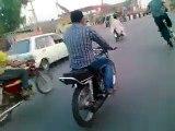 hassan one wheeling faisalabadi Wheelers pakistan