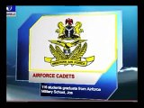 Airforce Cadets:116 students graduate from Airforce Military School,Jos
