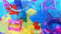 Barbie Splash 'n Spray Water Park Mini Mermaid with Disney Frozen Elsa and Anna Dolls Toys Review