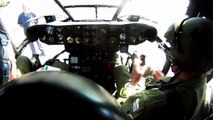 In Cockpit View SAAF SA 330 Puma Helicopter Start Up