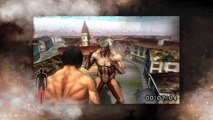 Attack on Titan The Game: 3DS Gameplay Trailer 3 | 'Attack on Titan The Last Wings of Humanity'【HD】