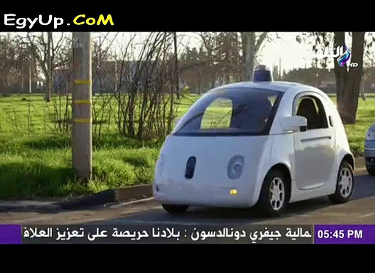 بالفيديو تعرف على النسخة الجديدة من سيارة جوجل الذكية التى لاتحتاج الى عجلة قيادة وتسير بدون تدخل بش