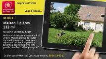 A vendre - maison - NOGENT LE ROI (28210) - 5 pièces - 132m²