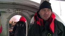 Une station sous la pluie - Expédition Tara Oceans Polar Circle - 5 août 2013