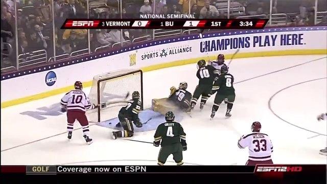 BU Hockey - 2009 NCAA Frozen Four Semifinal Highlights