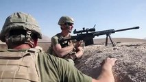 Recon Marine Sniper in Firefight With Taliban Near Sangin - Barrett Rifle - USMC Sniper