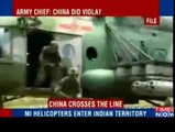 Pak China invading India, Chinese violating indian space everday says Indian Army Chief