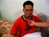 Korean eating habanero, funniest laugh