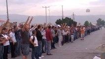 Bursa'daki Otomotiv İşçilerinin İş Bırakma Eylemi