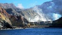 Whakaari / White Island Volcanoes Eruption Andesita New Zealand - Volcan Erupcion Nueva Zelanda
