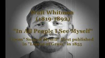 "Walt Whitman ""In All People I See Myself"" Poem animation"
