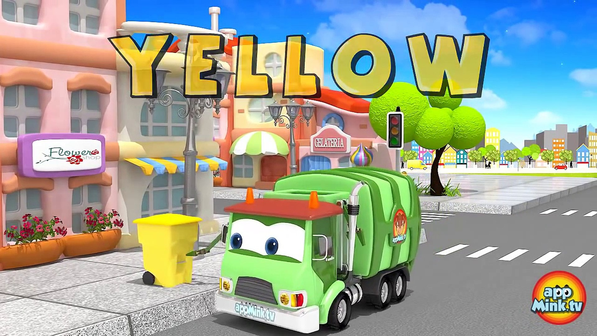 Toy Garbage Truck Toy Kids Learn Colors & Shapes Disney Cars Toy Story toys inspired Kids Cartoo
