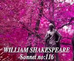William Shakespeare -SONNET 116 ' Let me not to the...