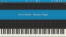 Tetris Attack - Bowsers Stage [Piano Tutorial]