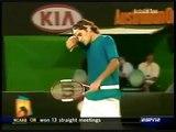 Australian Open Tennis 2005 SF Marat Safin VS Roger Federer