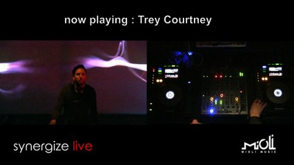 Trey Courtney @ Synergize Live presented by Mioli Music