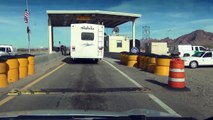 "U.S. Border Patrol Checkpoint,  Hand Written, ""Yes, I'm a U.S. Citizen"" card,  21 Dec 2012"