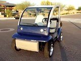 INNOVATION MOTORSPORTS 02 FORD TH!NK GOLF 72V NEV USED GOLF CART w/ EVERYTHING BRAND NEW
