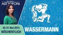 Monatliches Horoskop zum Sternzeichen Wassermann (25-31 Mai 2015)