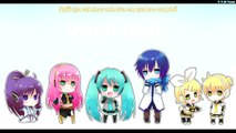 ♪ [Miku - Len - Kaito - Gakupo] Xe đạp [CoverVer] ♪