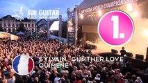 """Air Guitar World Championships 2010 Sylvain """"Günther Love"""" Quimene 1st round"""