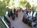 Andorra(Teruel) Semana Santa. Cuadrilla los Rebeldes en Via Crucis a San Macario