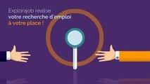 1er site emploi sans offre d'emploi, expert en candidature spontanée ciblée : Explorajob