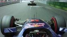 F1 :  Sortie de route spectaculaire de Max Verstappen lors du GP de Monaco