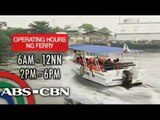 Pasig River ferry system braces for school opening