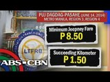 LTFRB approves jeepney fare hike