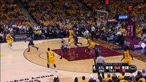 Matthew Dellavedova 3-Pointer _ Hawks vs Cavaliers _ Game 3 _ May 24, 2015 _ 2015 NBA Playoffs