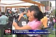 Nuevos alumnos de Colegio Mayor Presidente del Perú fueron bienvenidos