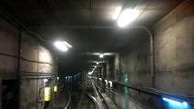 Métro de Montréal - Raccordement Berri - ligne 1 verte @ ligne 4 jaune